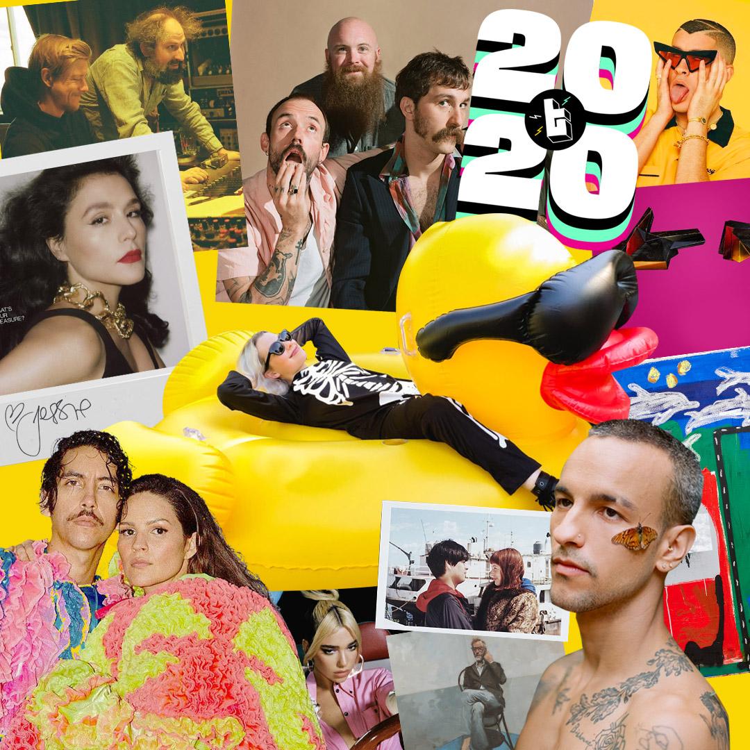 Los 100 mejores álbumes del 2020